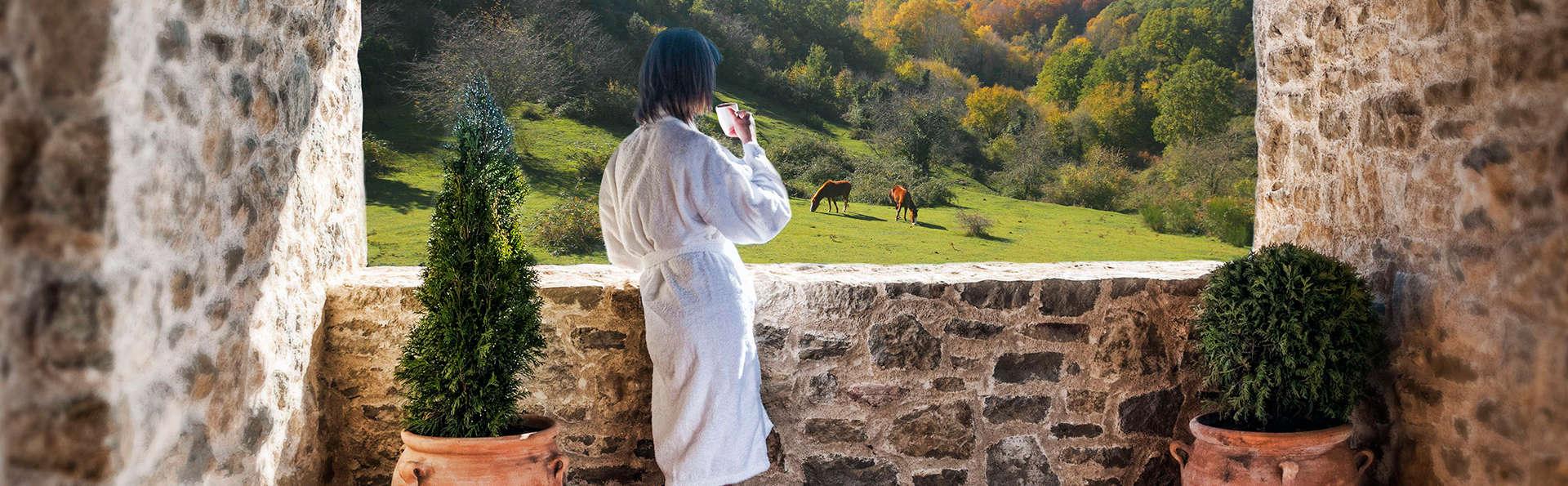 Week-end rustique avec décoration romantique à Garrotxa- Girona