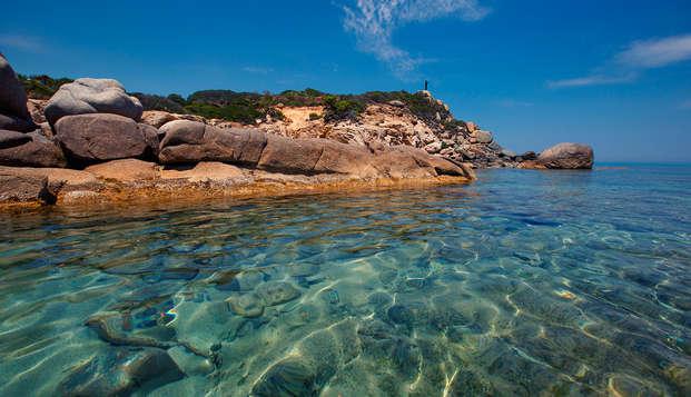Relax à deux pas de la mer en villa au sud de la Sardaigne (7 nuits)