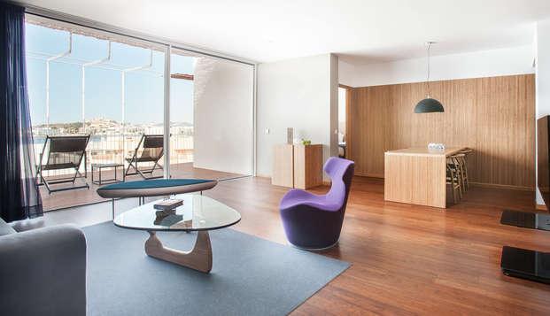 Découvrez Ibiza dans confort d'un loft 5* à Cala Talamanca