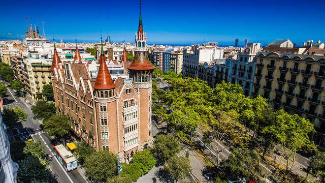 Ven a Barcelona y visita la casa de les Punxes