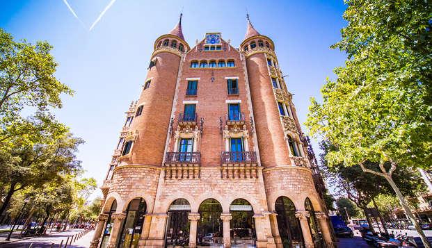 Découvrez la Casa de les Punxes à Barcelone