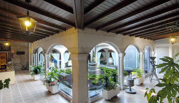 Encanto y gastronomía en un hotel rural a las puertas de Santiago de Compostela