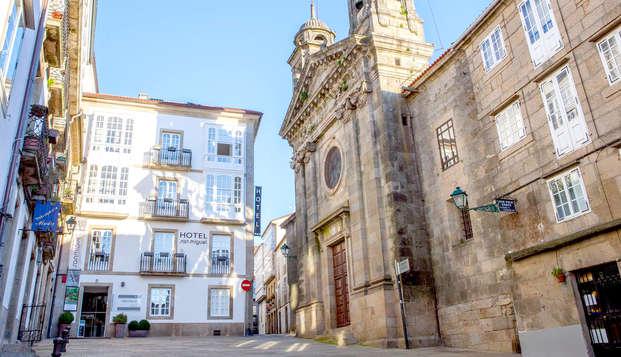Escapada en Santiago de Compostela en habitación superior
