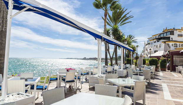 Séjour relax avec dîner et parcours thermal dans un hôtel avec accès direct à la plage de San Pedro