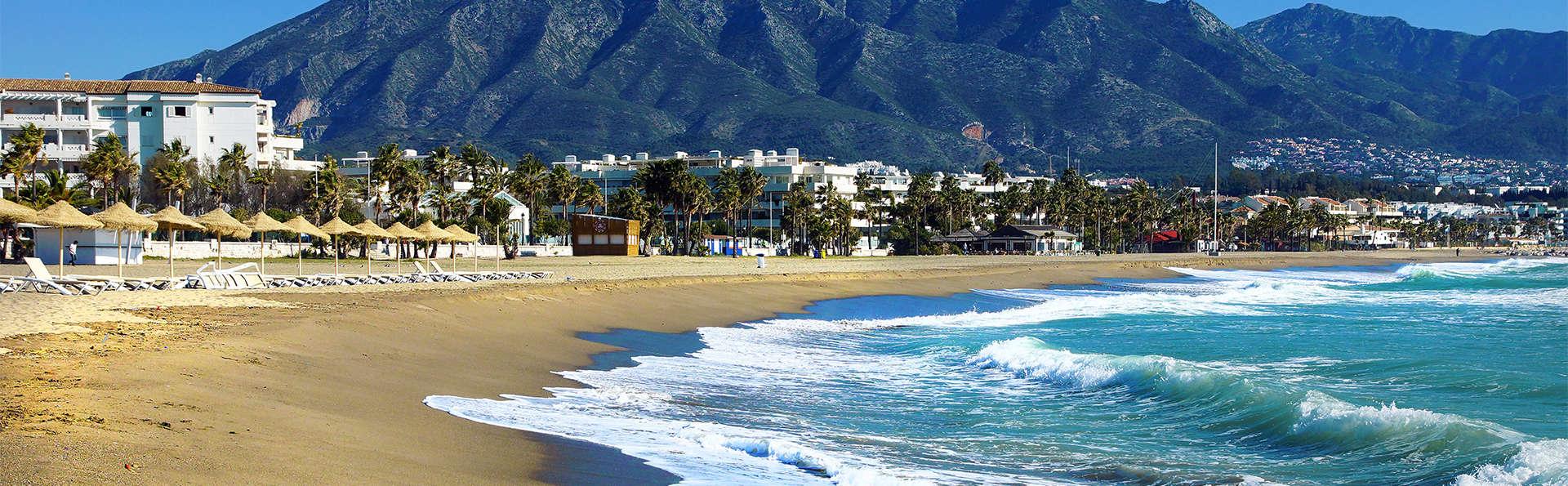 Escapade avec dîner et parcours thermal dans un hôtel de luxe à Marbella