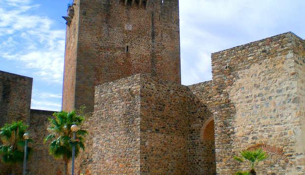 Escapada al pueblecito de Olivenza con cena degustación y entradas al Castillo
