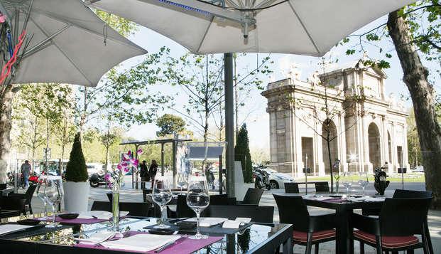 Hotel Hospes Puerta Alcala - restauranterrace