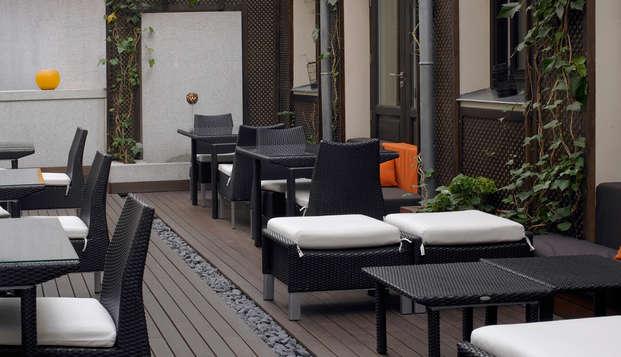 Hotel Hospes Puerta Alcala - terrace