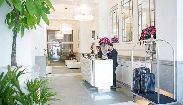 Hotel Hospes Puerta Alcala - reception