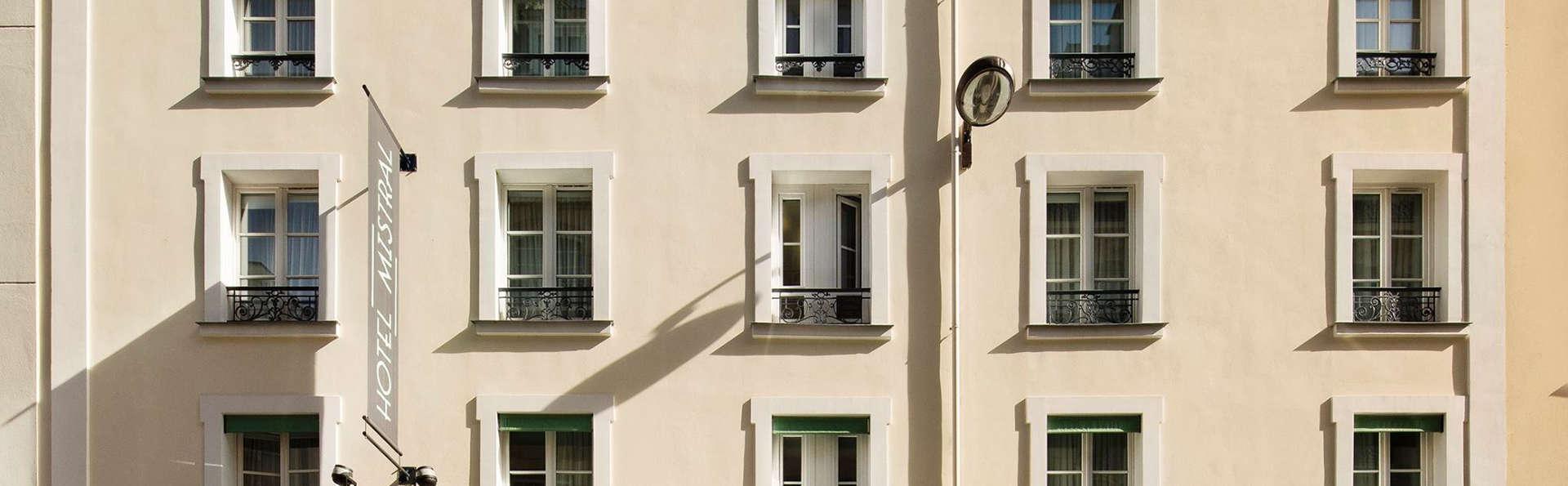 h tel mistral 3 paris france. Black Bedroom Furniture Sets. Home Design Ideas