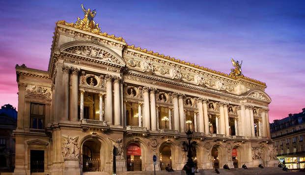 Escapade parisienne à deux pas de l'Opéra Garnier