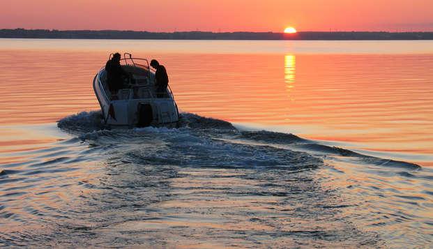 Séjour romantique avec vue sur le lac de Côme et promenade en bateau