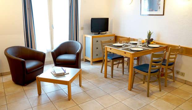 Studio à deux pas de la grande plage de Saint-Malo (à partir de 2 nuits)
