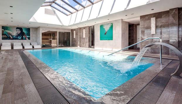 City trip avec bain hydromassant en chambre