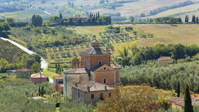 Descubre Chianciano Terme con detalle de bienvenida