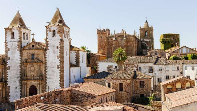 Descubre los encantos de la ciudad medieval de Cáceres