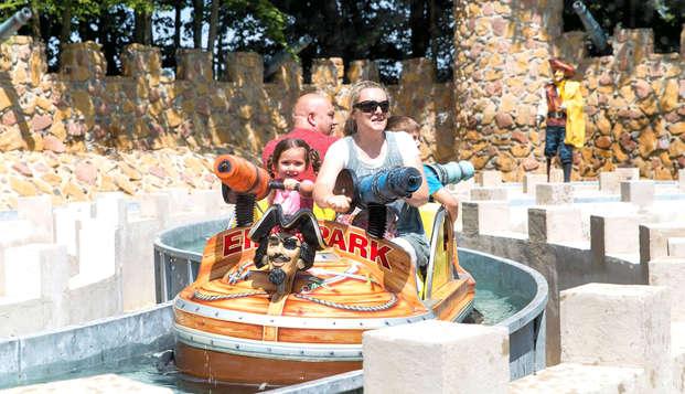 Plezier en avontuur met de hele familie in Eifelpark (vanaf 2 nachten)