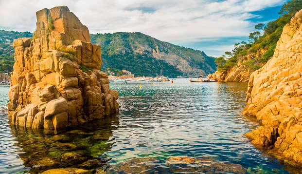 Vive las maravillas del Estartit con pensión completa a 5 minutos de la Playa