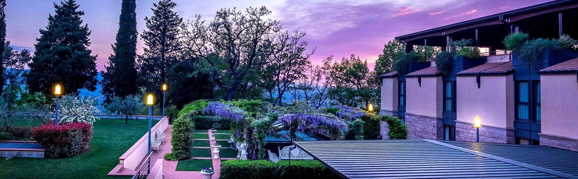 Classe ed eleganza tra i colori di Assisi con accesso spa