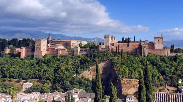 Visita a la Alhambra para 2 adultos