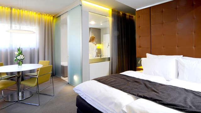 Ontspan in de Spa, 4 gangen diner en slaap in een Luxevilla