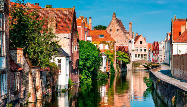 Geniet van luxe en bewonder het prachtige Brugge