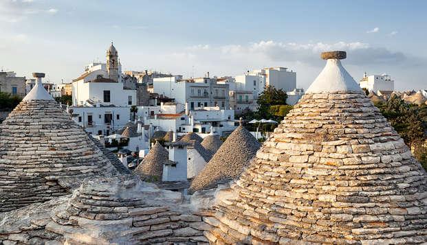 Découvrez les trulli des Pouilles dans un élégant hôtel à Alberobello