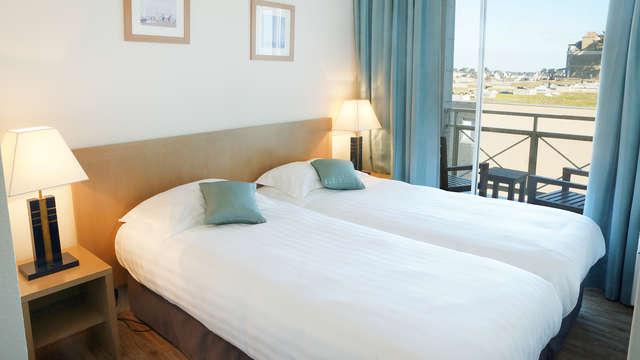 Séjour en appartement avec vue mer à Saint-Malo (à partir de 7 nuits, non remboursable)