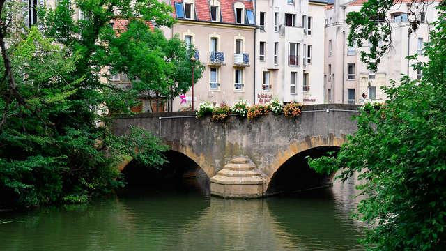 Verblijf in Metz, dicht bij de grens tussen Frankrijk en Duitsland