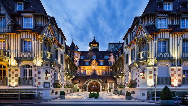 Dîner, champagne et jetons au Casino à Deauville
