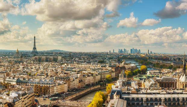Alójate en pleno corazón de la capital francesa