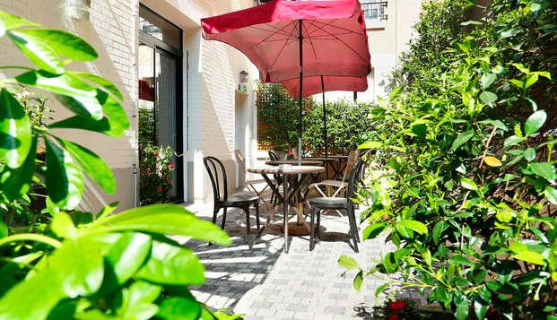 Alójate en un encantador hotel parisino (desde 2 noches)