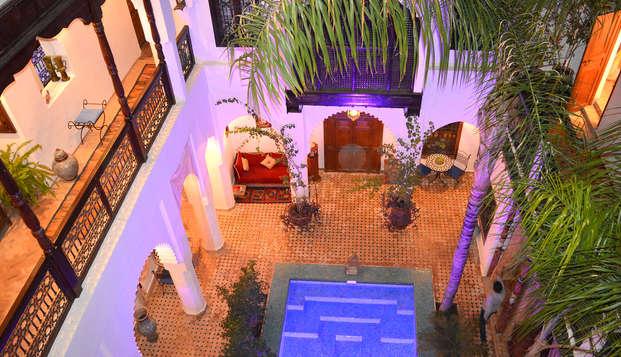 Riad di lusso nel cuore della medina di Marrakech