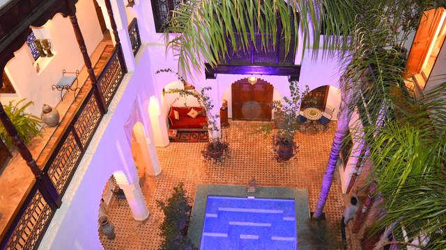 Mooie riad in het hart van de medina van Marrakech