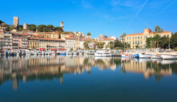 Week-end détente en suite deluxe à Cannes