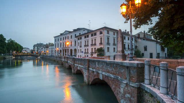 Clase y elegancia con desayuno incluido a las afueras de Treviso