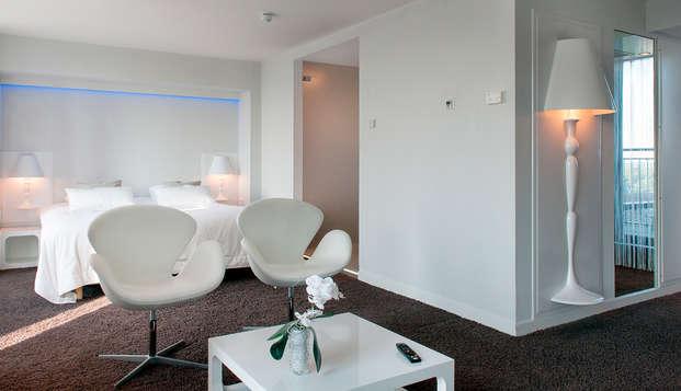 Van der Valk Hotel Eindhoven - penthouse bedroom