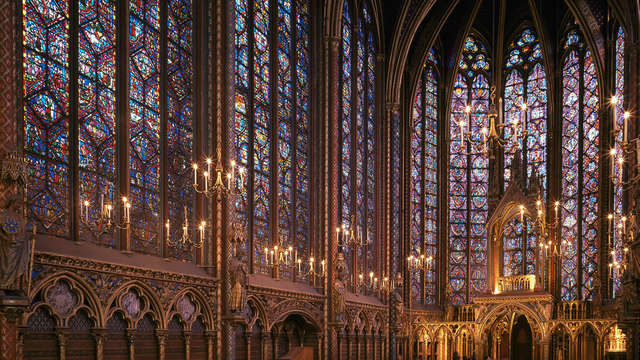 Week-end découverte en couple avec visite de la Sainte-Chapelle et de la Conciergerie