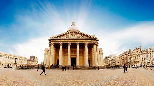 Entrée au Panthéon et séjour design 4* à Paris