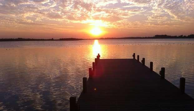 Breng de zomer door aan het Veluwemeer nabij Amersfoort (vanaf 2 nachten)