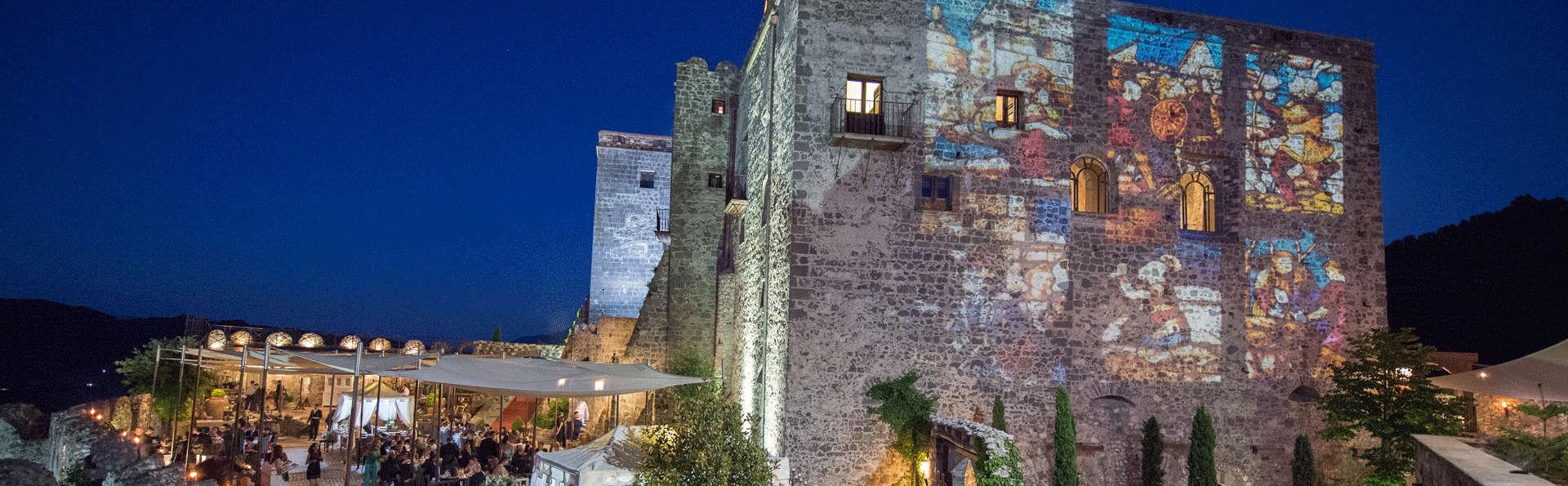 Notte magica con bottiglia in camera nel cuore verde della Campania(da 2 notti)