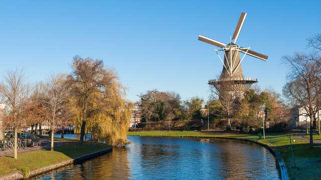 Ontdek Leiden vanop het water