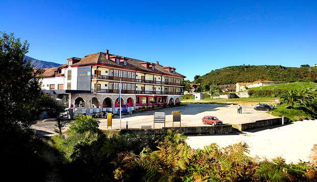 Escapada Familiar en la Costa Asturiana en Media Pensión