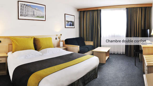 Westotel Nantes Atlantique - milieu Weekendesk chambre double confort