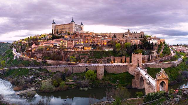 Escpada en un hotel con encanto muy cerca del centro histórico de Toledo con desayunos incluidos