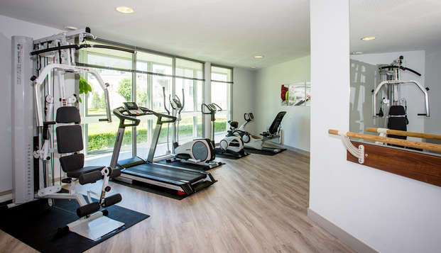 Clarion Hotel Chateau Belmont - NEW gym