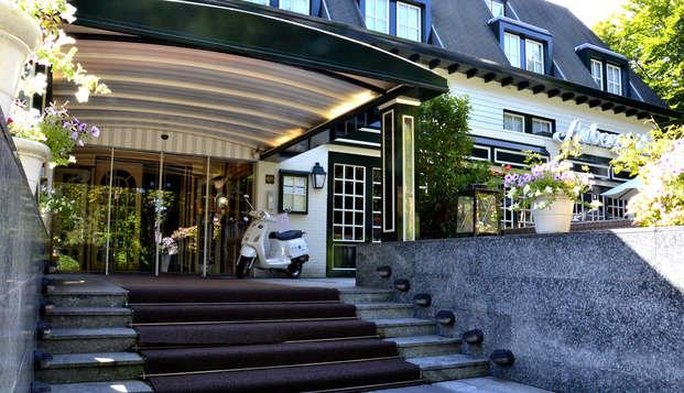 Fletcher Hotel-Restaurant Auberge De Kieviet - entrance