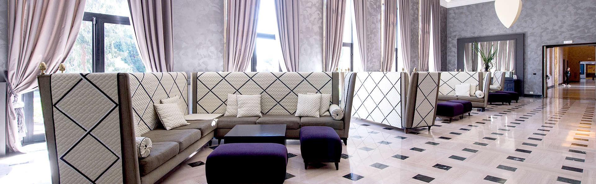 Luxe et élégance dans un chambre deluxe à Rome