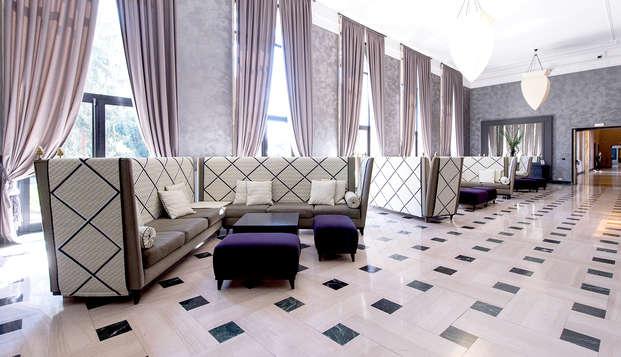 Lusso a Roma: soggiorno in un elegante palazzo in camera Deluxe!
