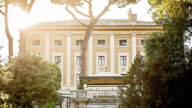 Romantiek en wijn in een renaissance paleis in Rome